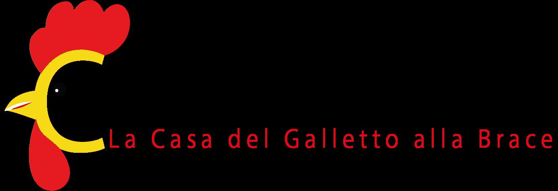 """Il logo del ristorante famigliare Chicken House è costituito da un galletto, dal nome del ristorante """"Chicken House"""", dalla traduzione """"La casa del galletto alla brace"""" e la bandiera italiana a mostrare il made in Italy."""
